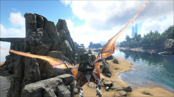 Ark_Survival_Evolved_flying_dinosaur